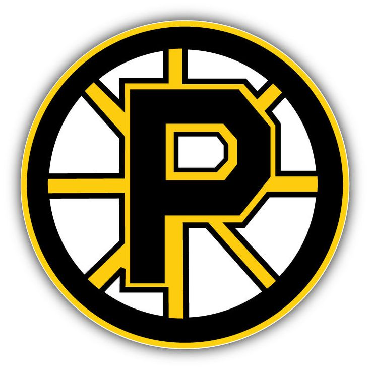 Providence Bruins AHL Hockey Logo Car Bumper Sticker Decal 5 x 5