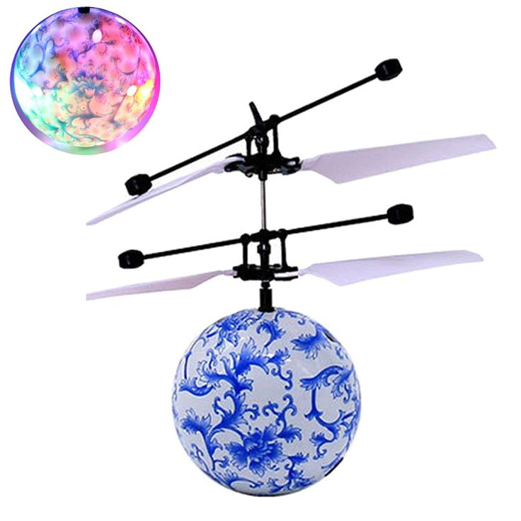 RC Toy EpochAir RC Flying Ball Drone Helicopter Ball Built-in Shinning LED Lighting for Kids Teenagers Colorful Flyings17Dec11  Price: 10.69 & FREE Shipping  #hashtag3