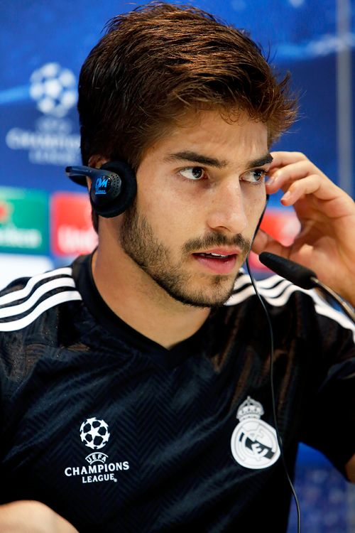 """celebritiesofcolor: """"Lucas Silva attends a press conference on the eve of the UEFA Champions League football match Real Madrid CF vs FC Schalke 04 """""""