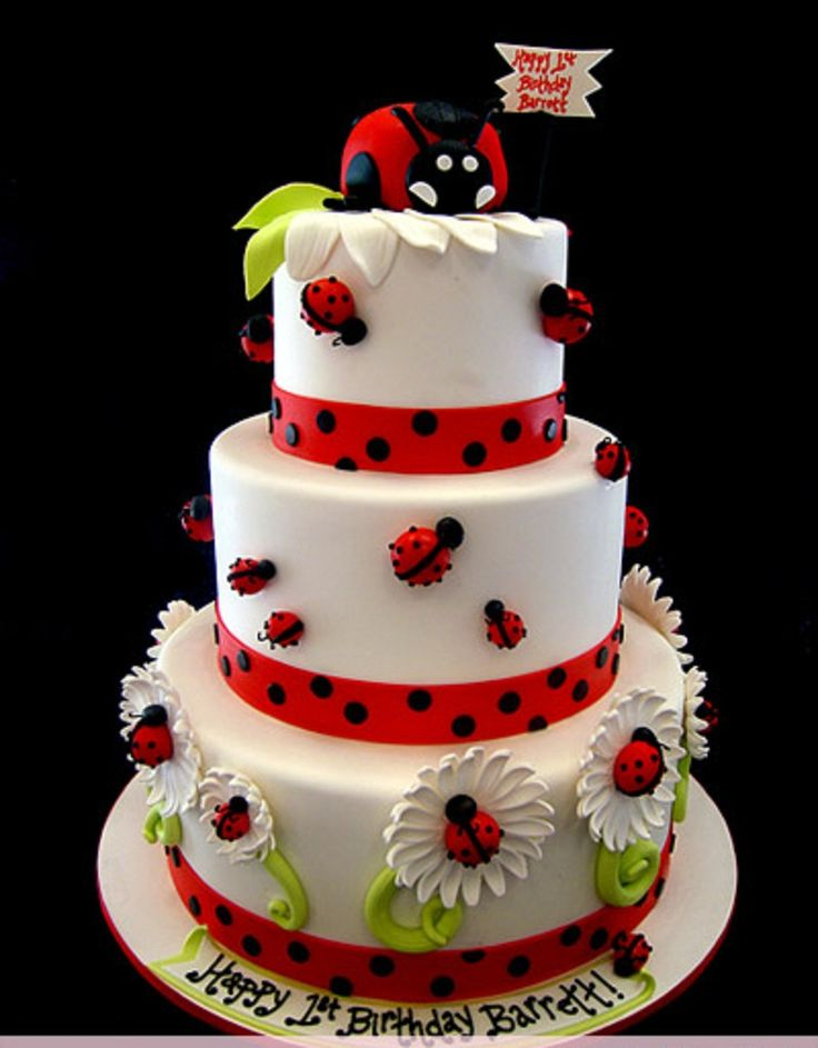 ladybug birthday ideas   Ladybugs Cakes