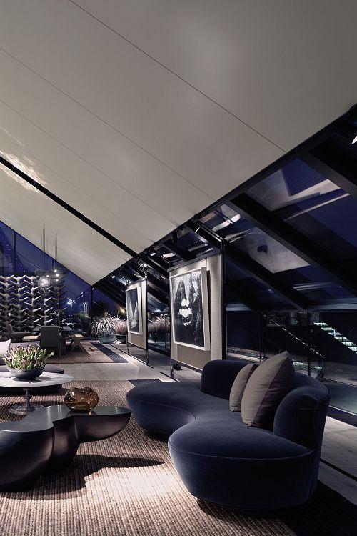 livingpursuit:  London Penthouse |Source