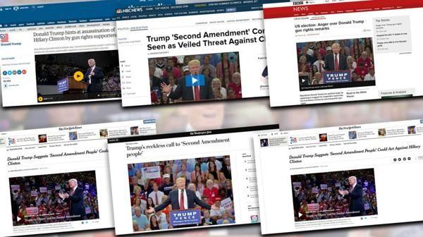 Arrecian las críticas tras las declaraciones de Donald Trump sobre las armas y Hillary Clinton - http://diariojudio.com/noticias/arrecian-las-criticas-tras-las-declaraciones-de-donald-trump-sobre-las-armas-y-hillary-clinton/204579/