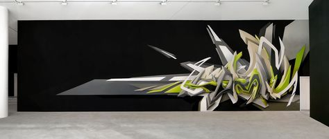 Evolution of DAIM's 3D-Style | DAIM | graffiti-art | black white green