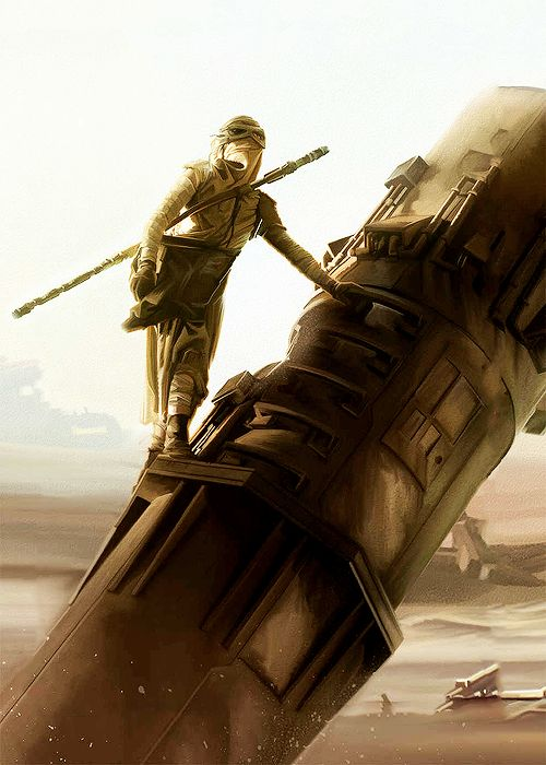 "Star Wars Forever — yocalio: Rey ""The Scavenger"" by Brain Rood."