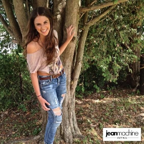 Shay rocks country casual in the latest Jean Machine #StaffPicks! Check out jeanmachine.com to get the look!