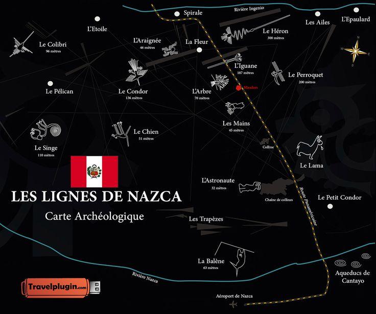 Il y a un intrus parmi les vrais dessins de Nazca. Le trouverez-vous ?