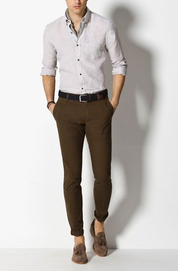Camisas Casual Men Style Pinterest