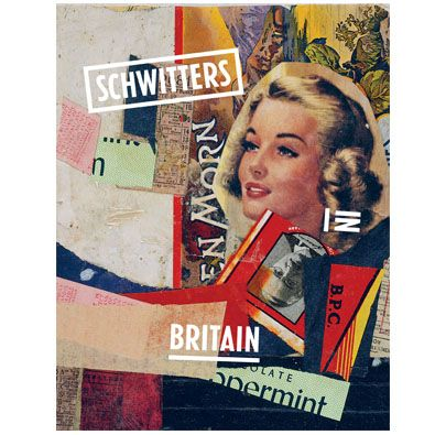 Schwitters in Britain - saw the exhibition yesterday at Tate. Almost splashed £24.99 on the book...