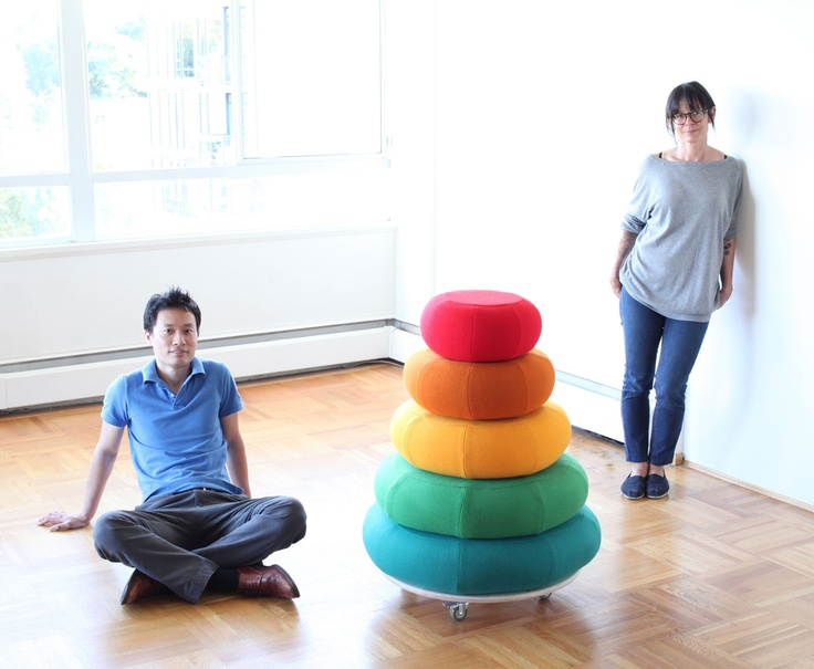 Floor Cushions by Cumulus Project