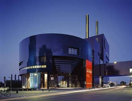 We have the most theatres per capita than any other state.  This is the Guthrie, the largest regional theatre in the nation.