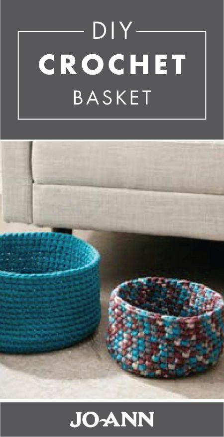 This winter, break out your crafting skills by making these DIY Crochet Baskets for your living room. Whether you choose them to store your knitting supplies or magazines, or use them simply for decor, there are so many reasons to love these handmade organizing containers.