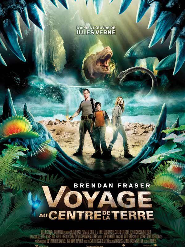 Voyage Au Centre De La Terre Affiche Film Voyage Film D Aventure Film Fantastique