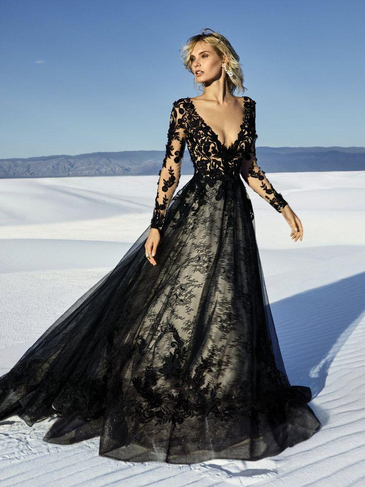 Sottero and Midgley Zander in 2019 | Black wedding gowns, White wedding gowns, Black wedding dresses
