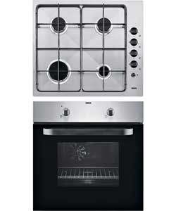 Zanussi ZPGF4030X Built-In Oven and Gas Hob-Stainless Steel.