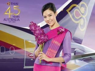 Day 1 - Sunday - Leaving Sydney to Bangkok with Thai Airways International TG 476 at 10.00 AM Sydney time. Duration 09h20m direct flight.