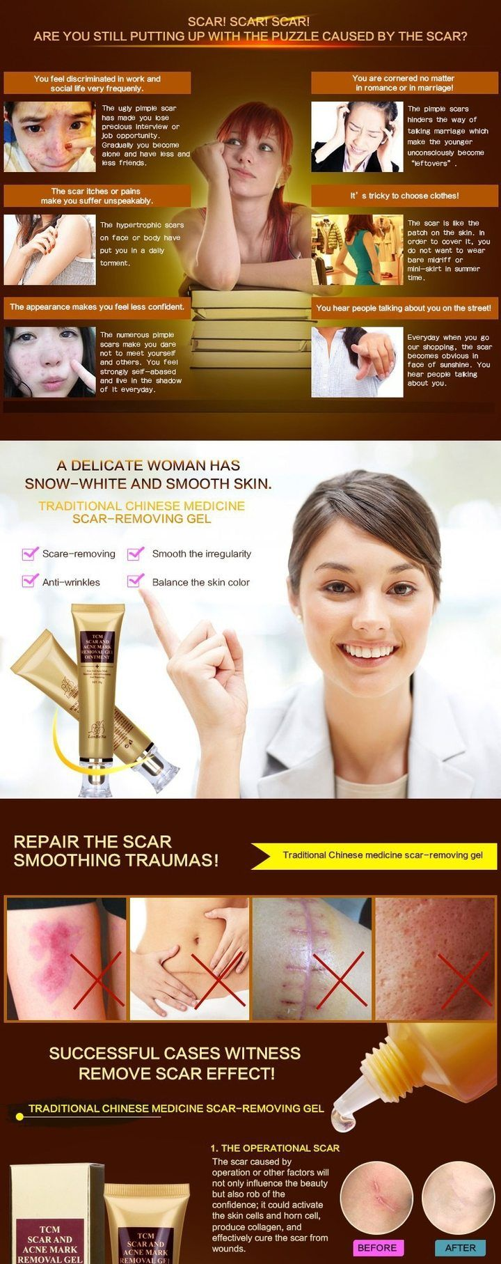 Acne Scar Remover Cream Scar removal cream, Acne scar