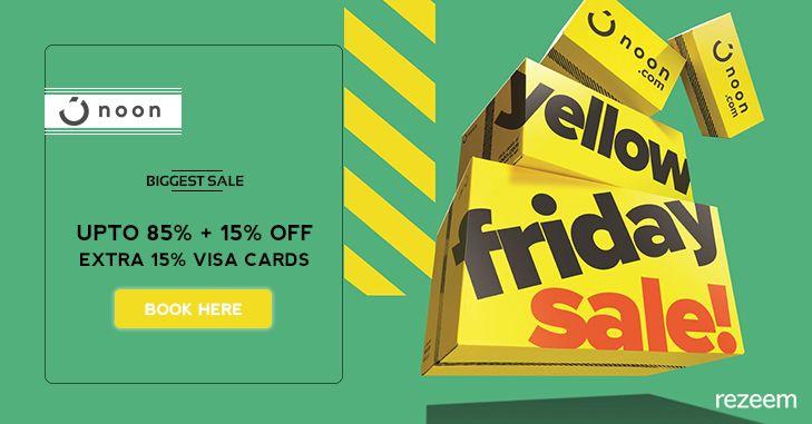 Noon Yellow Friday Sale Coupons Noon Visa Card