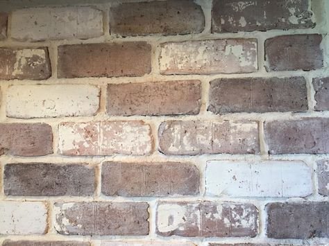 diy backsplash, backsplash, brick backsplash, white wash, brick veneer backsplash, tutorial,