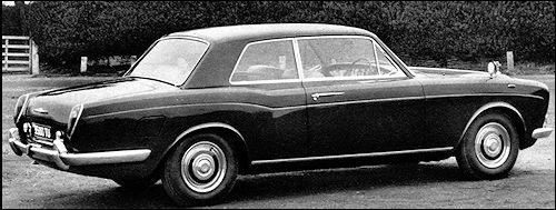 1970 Rolls-Royce Silver Shadow Coupe