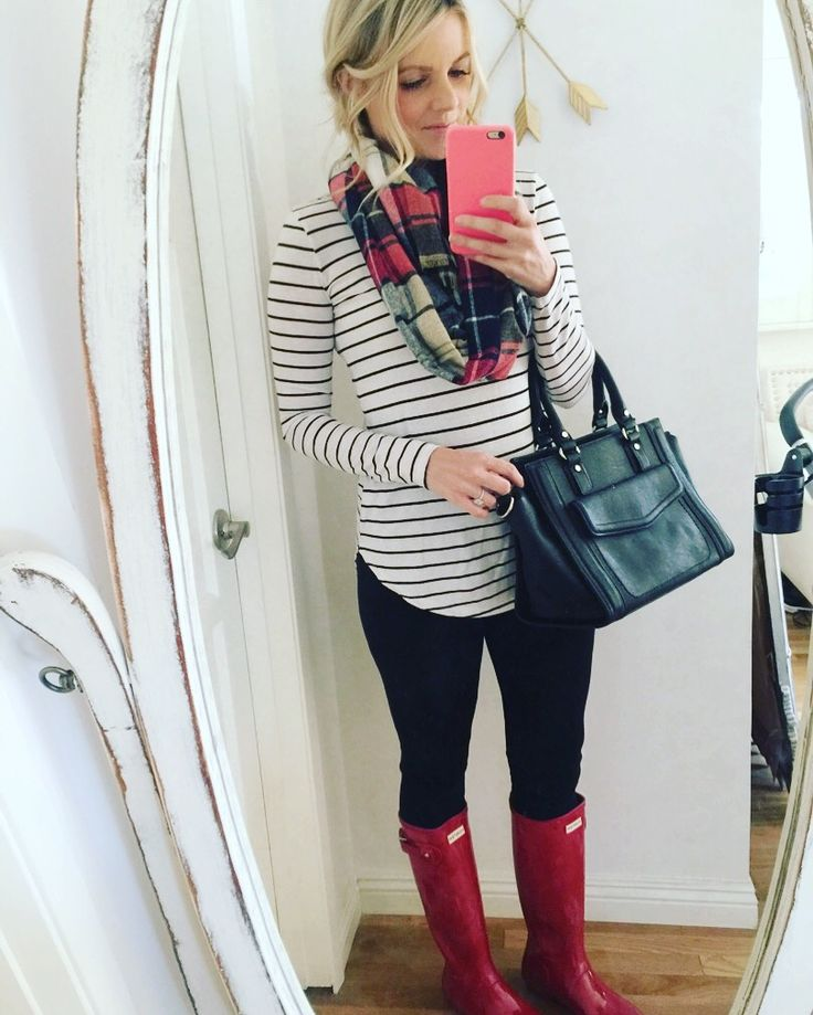 Red Boots for Fall