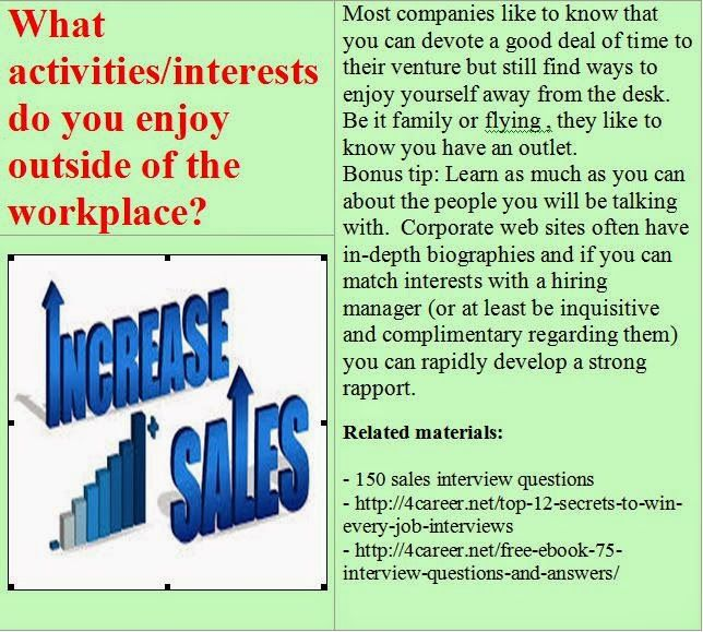 1000 ideas about sales interview questions on pinterest