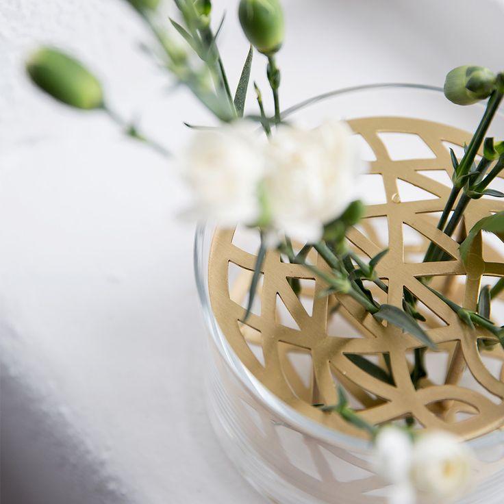Äng Vase Liten, Messing - Eva Schildt - Klong - RoyalDesign.no