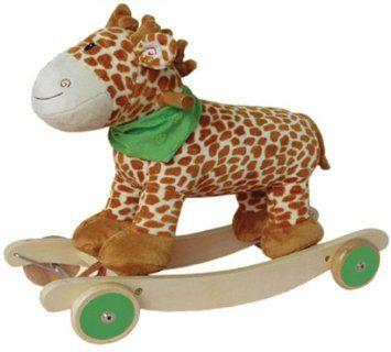 ROCKING GIRAFFE W/WHEELS JR 268: Amazon.co.uk: Toys & Games