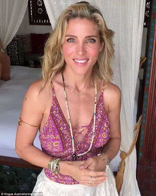 'I love a mix of hippy, but [my style] touches on rock 'n' roll, with colours and prints': Elsa Pataky, 40, has revealed how moving to the laid-back coastal town of Byron Bay inspired her to embrace her inner 'hippy'