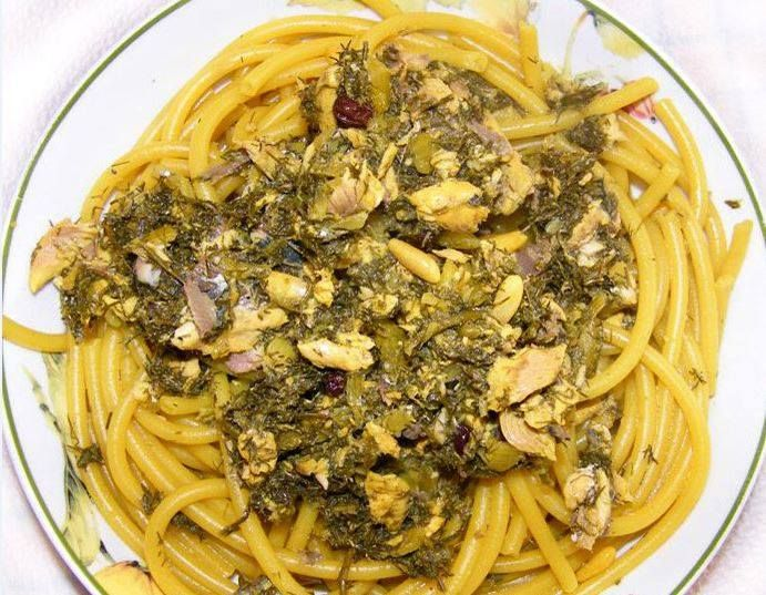 Pasta con le sarde | Palermo: food, sicily and more... | Pinterest