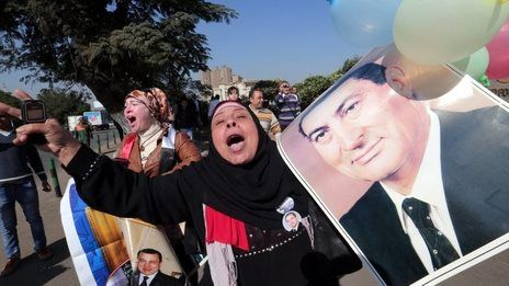 """""""A court in Egypt has dropped charges against former President Hosni #Mubarak over the killing of 239 protesters during the 2011 uprising against him."""""""