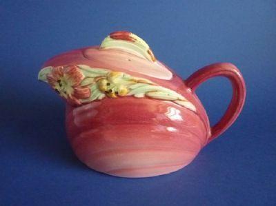 Shorter and Son Rose 'Bouquet' Teapot c1945