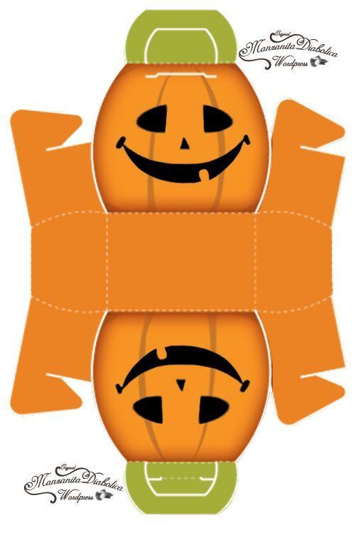 :printable Halloween box