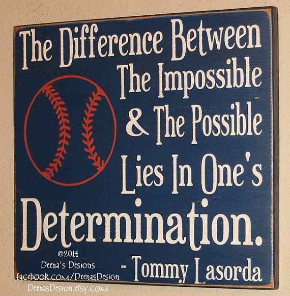 Baseball Decor Baseball Sign Baseball Quote Sign by DeenasDesign