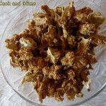 Pop corn de chou-fleur au déshydrateur - Cook and Dôme