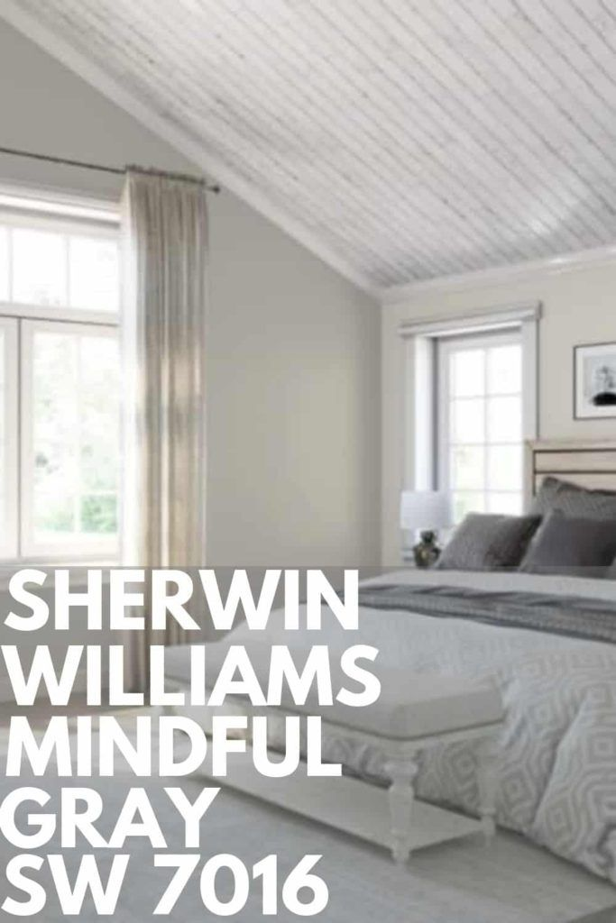 Sherwin Williams Mindful Gray Sw 7016 Mindful Gray Sherwin Williams Mindful Gray Warm Grey Paint Colors