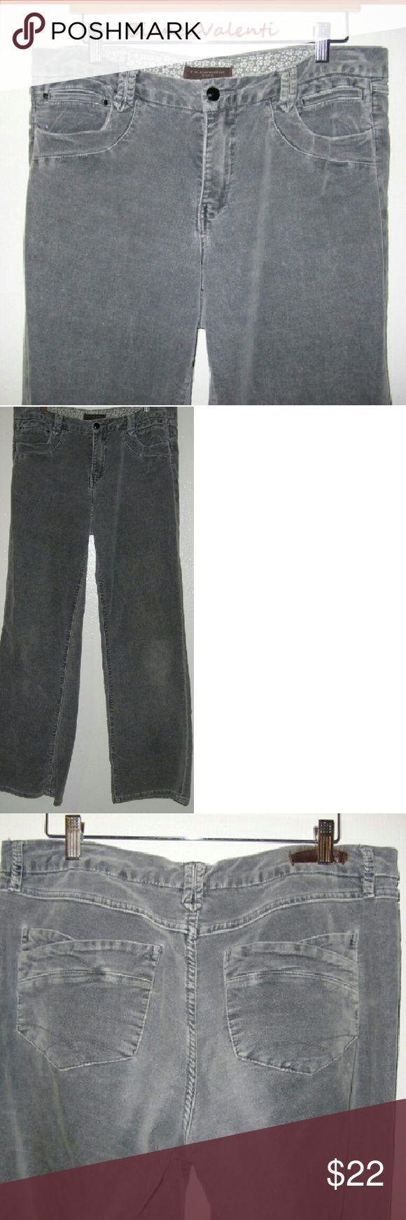 Christopher Blue velvet pants 14...up Nice stretch velvet, light gray 38x33 Christopher Blue Pants