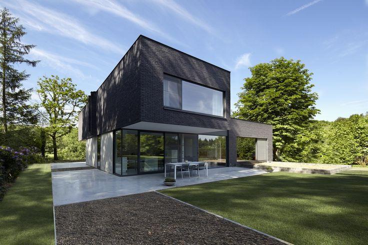 Architectenburo bart coenen te antwerpen architect van moderne woningen architecture for Terras modern huis