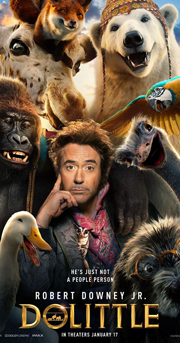 Dolittle 2020 Imdb With Images Dr Dolittle Full Movies