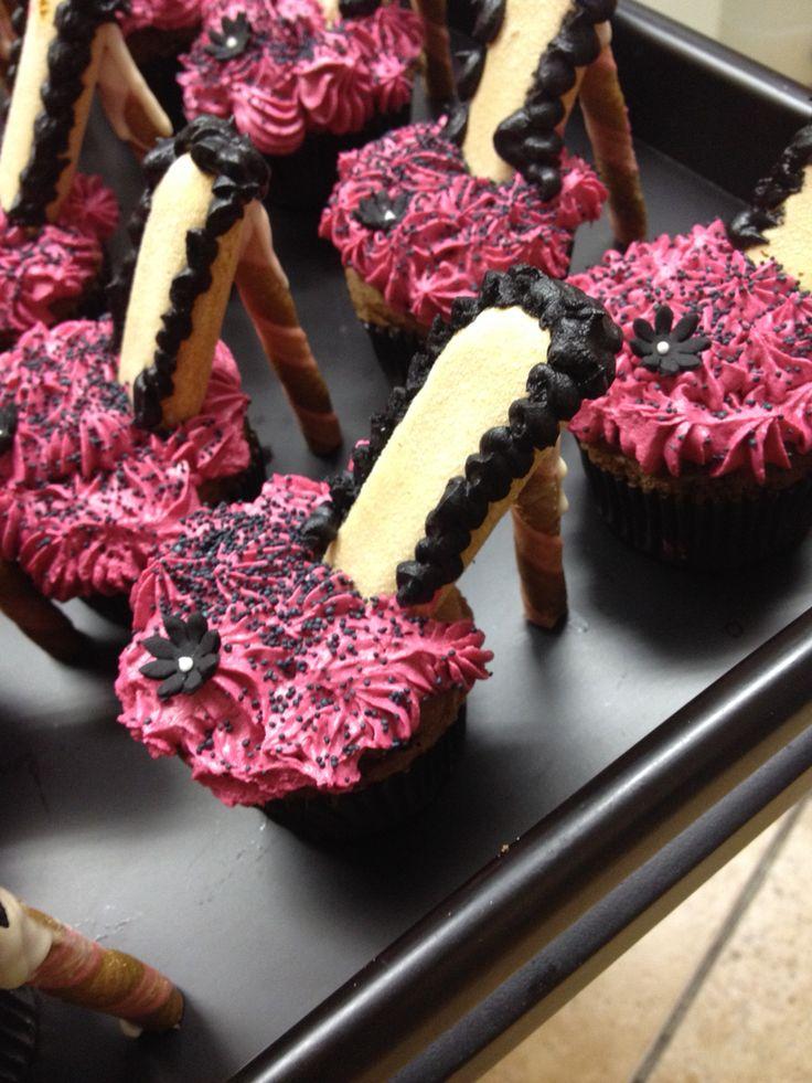 Stiletto Heel Cupcakes