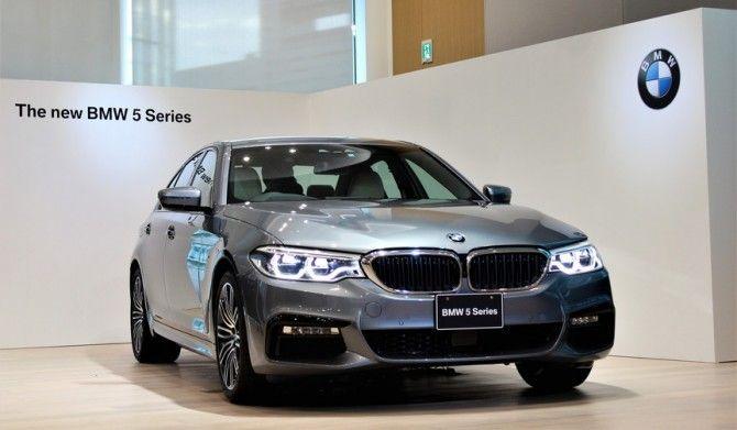 新型BMW 5シリーズが日本上陸BMW