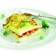 Koolrabi-knolselderijschotel met kaas (van Boodschappen)