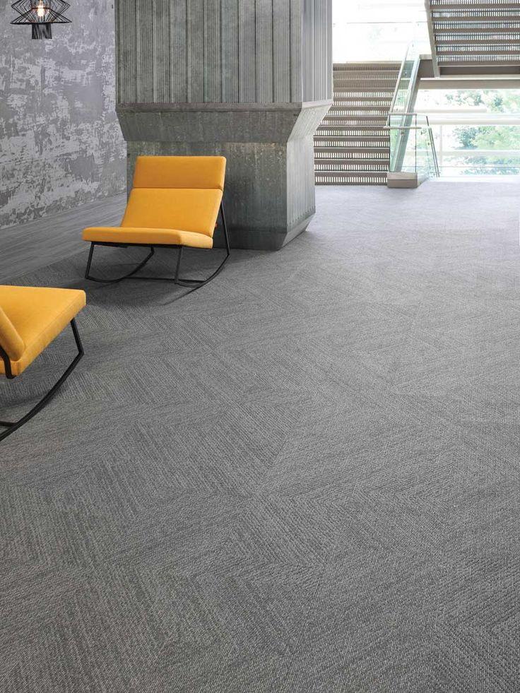 Les tuiles de tapis sont modulaires, permettant de créer des styles uniques et originaux. Elles sont parfaites pour des environnements commerciaux tels que des bureaux.