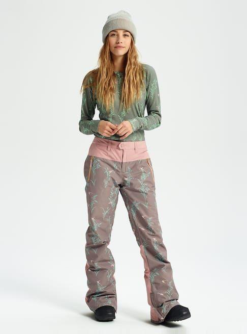 3aedd963e4 Women s Burton GORE-TEX Duffey Pant shown in Falcon Birds   Fawn ...