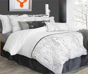Les broderies de couleur grise aux motifs de coupe de billot nous donnent un modèle neutre et polyvalent. La conception très originale et exclusif de Blairmont est un moyen rapide et facile pour concevoir un look contemporain!