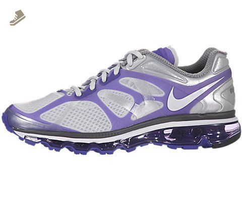 Holiday Deals Nike Air Max 2012 487982 010 Wolf Grey Black Men's Running Shoes Size 13 Nike