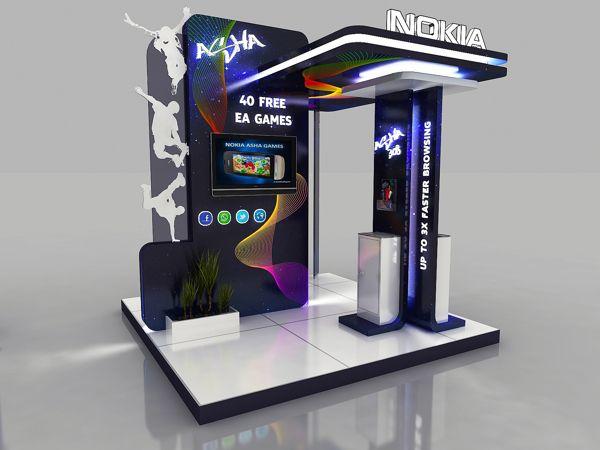 Nokia - Asha Booth - by Hossam Khattab…