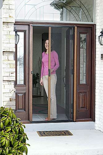 retractable screen door doors for french patio lowes home depot