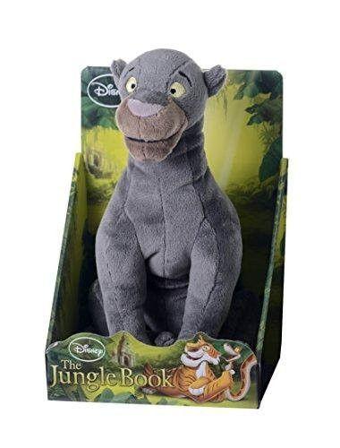 Disney 23898 10-Inch Jungle Book Bagheera Soft Plush Toy