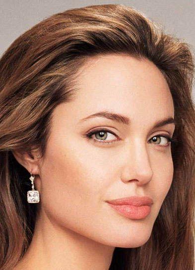 Angelina Jolie. I think she's gorgeous.