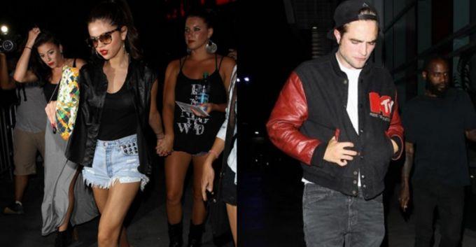 Robert Pattinson y Selena Gómez asistieron al concierto de Beyoncé en L.A